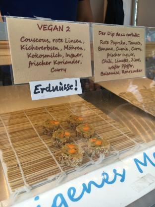Veganes und Vegetarisches Couscous-Sushi