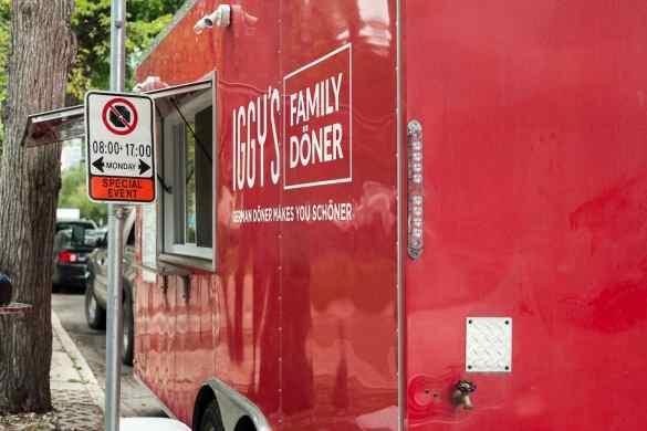 Iggy's Family Döner in den Straßen von Winnipeg