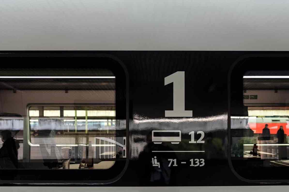 Außenkennzeichnung der 1. Klasse