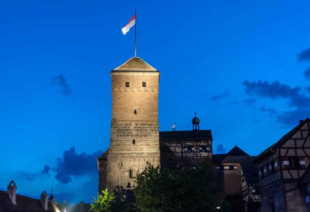 Älteste Anlage der Burg - Doppelkapelle mit Heidenturm