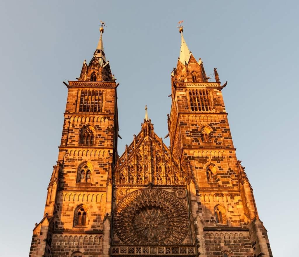 St. Lorenzkirche in der südlichen Altstadt