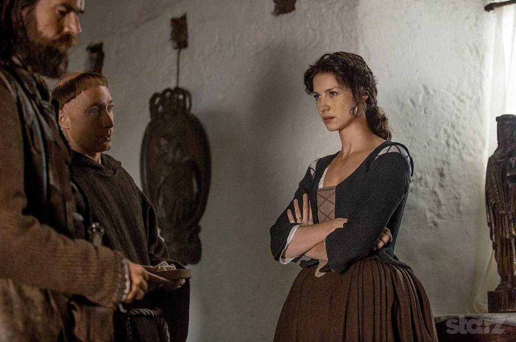 offizielles Szenenfoto vom Sender STARZ aus Episode 1x16 in der Abtei