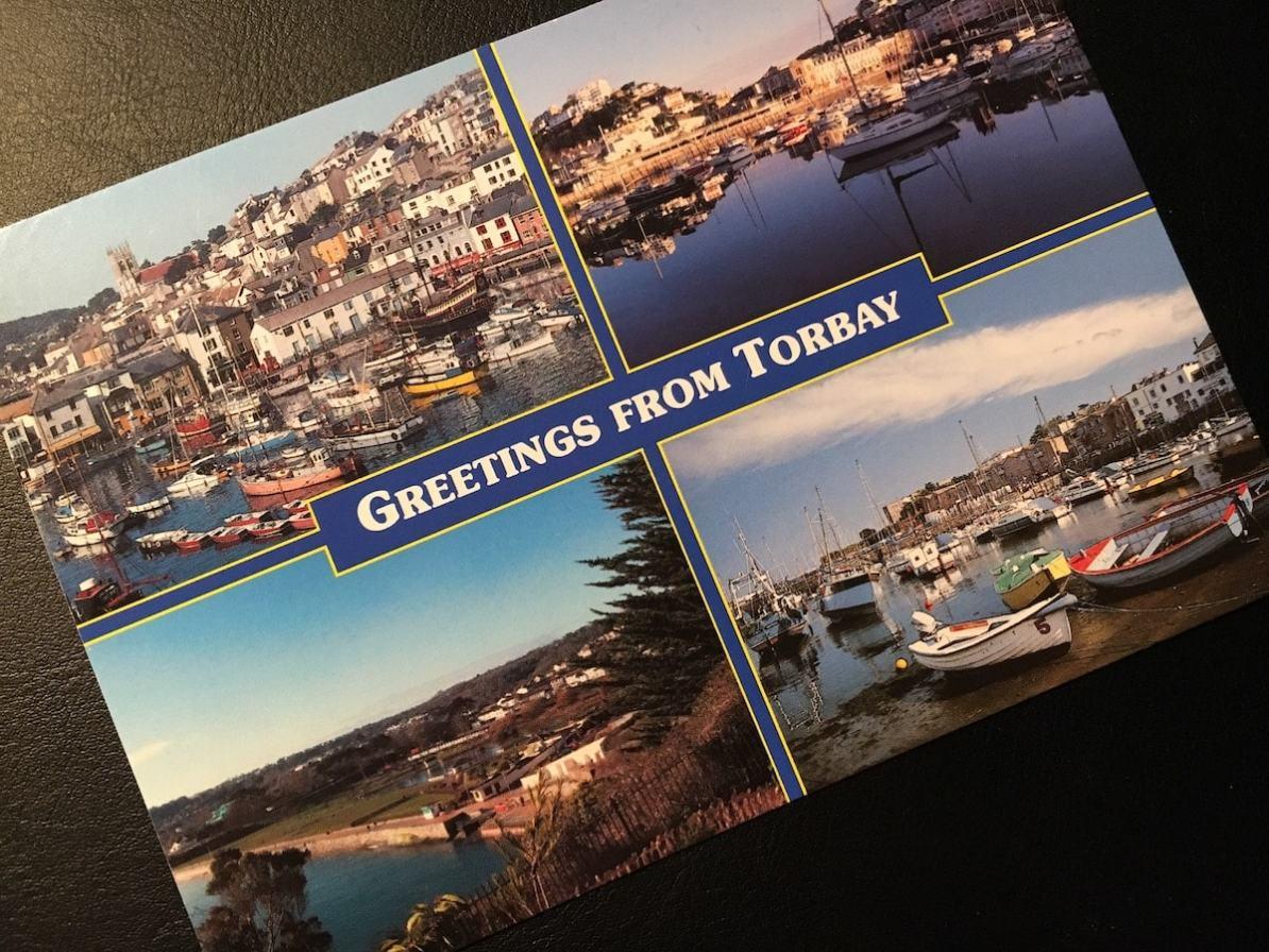 Postcard of the Week - Torbay, England