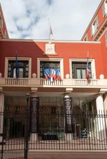 Rathaus von Nizza in Vieux Nice