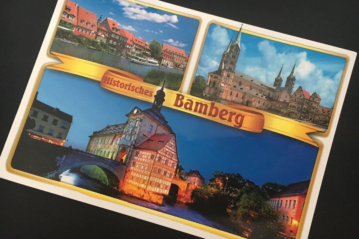 Postcard of the Week: Bamberg, Deutschland #pcotw