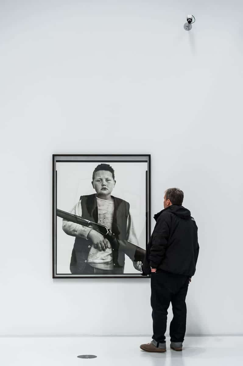 Auch normale Menschen portraitierte Richard Avedon – B.J. Van Fleet (Foto: Simon Bierwald, Indeed Photography)