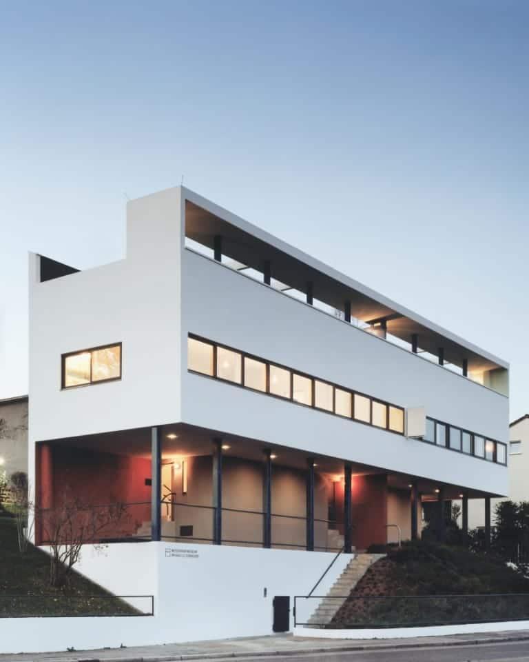 Weißenhofmuseum im Doppelhaus von Le Corbusier/Jeanneret, Weißenhofsiedlung Stuttgart Foto/Copyright: González