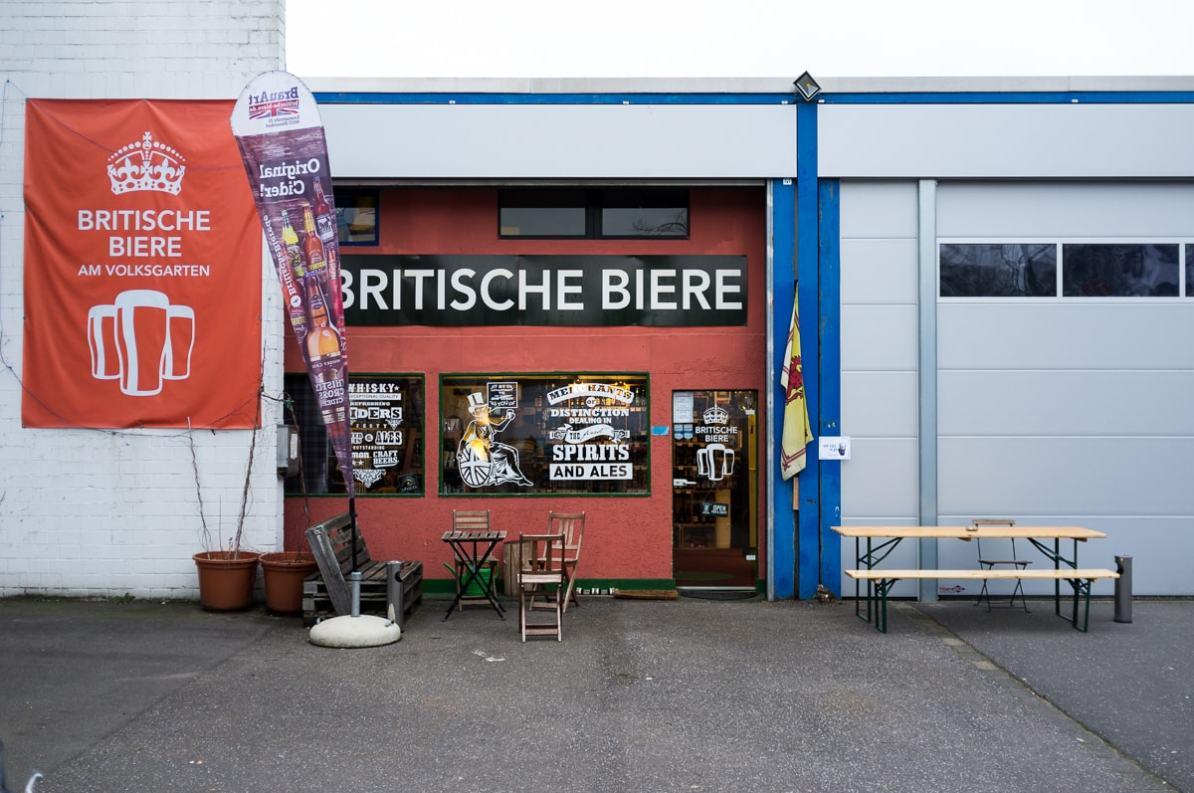 Britische Biere und jetzt auch die Heimat von DCBC