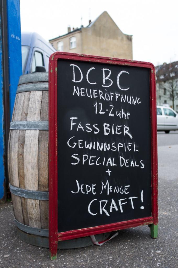 Eröffnung des Düsseldorfer Craft Bier Co. Shops