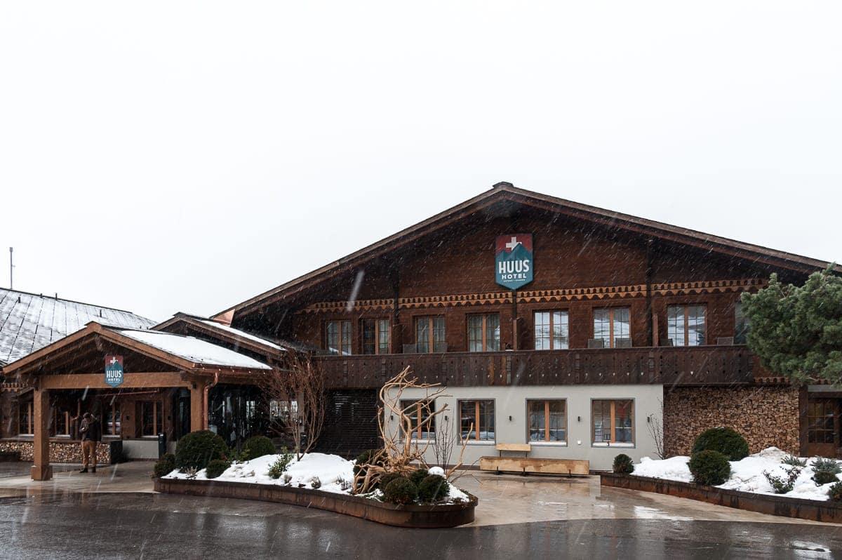 HUUS Hotel von außen