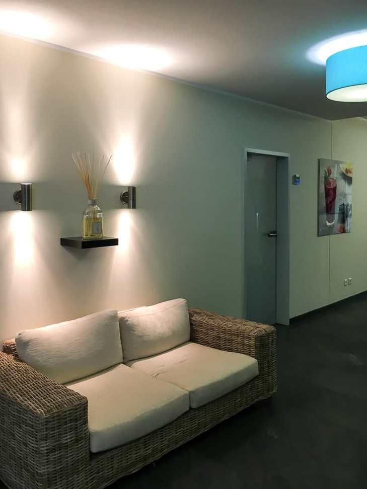 Foyer/Wartebereich bei McWellness
