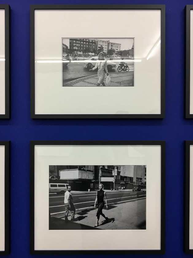 Gegenüberstellung von Fotos von Lindberg und Winogrand