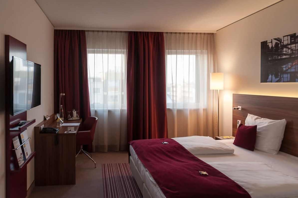 mein Hotelzimmer im GHotel Essen