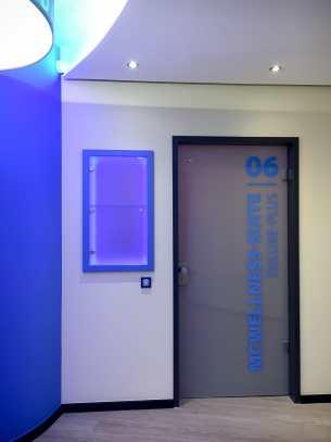 Eingang zu einer Suite