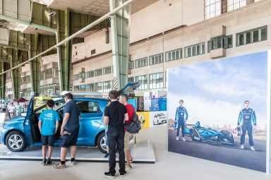 Renault ZOE und andere Elektroautos aus der Nähe