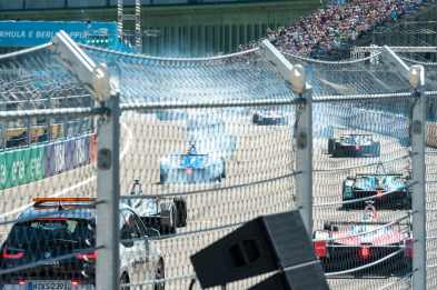 Start des Formel E-Rennens in Berlin
