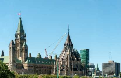 Ausblick aufs Parlament