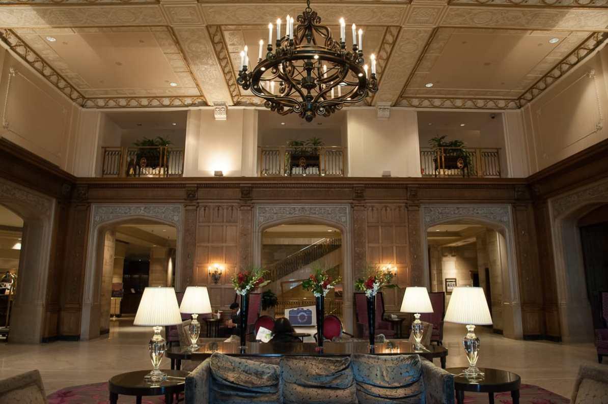 Lobby des Fairmont Château Laurier Hotels
