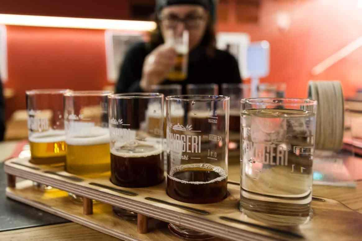 Bryggeri Bier Tasting