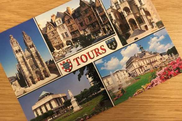 Postcard of the Week: Tours, Frankreich #pcotw