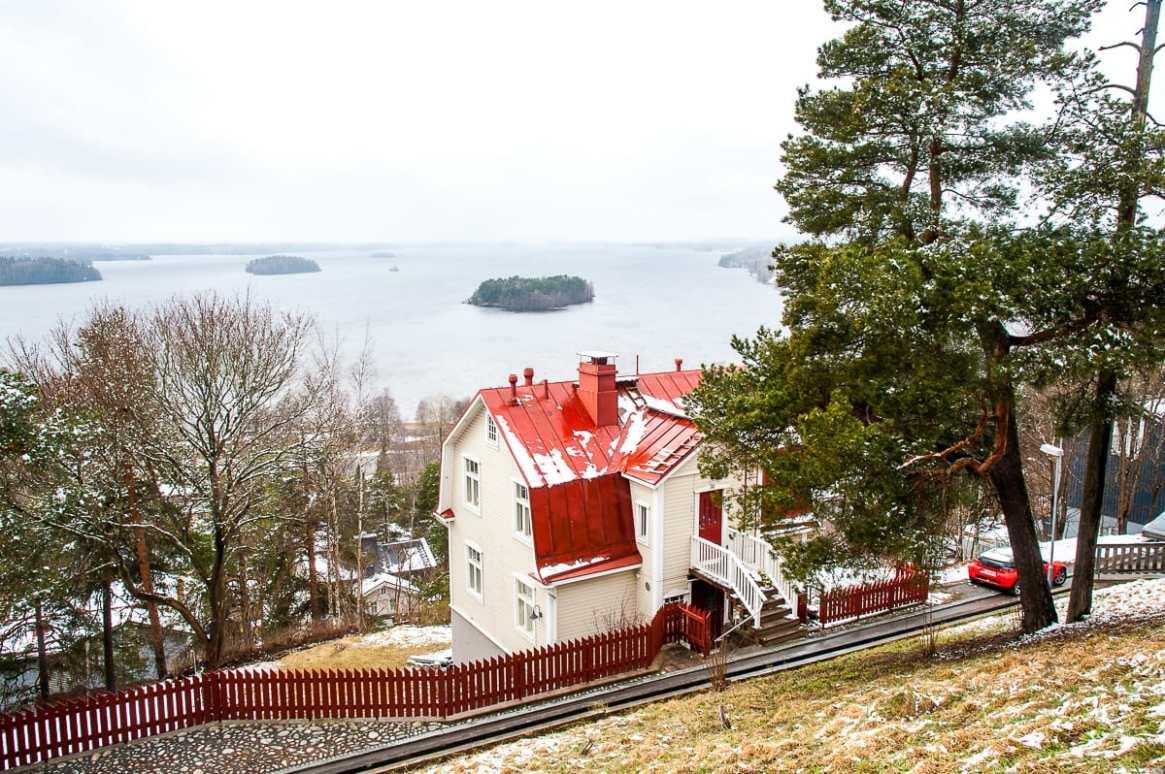 Tamperes meistfotografiertes Haus