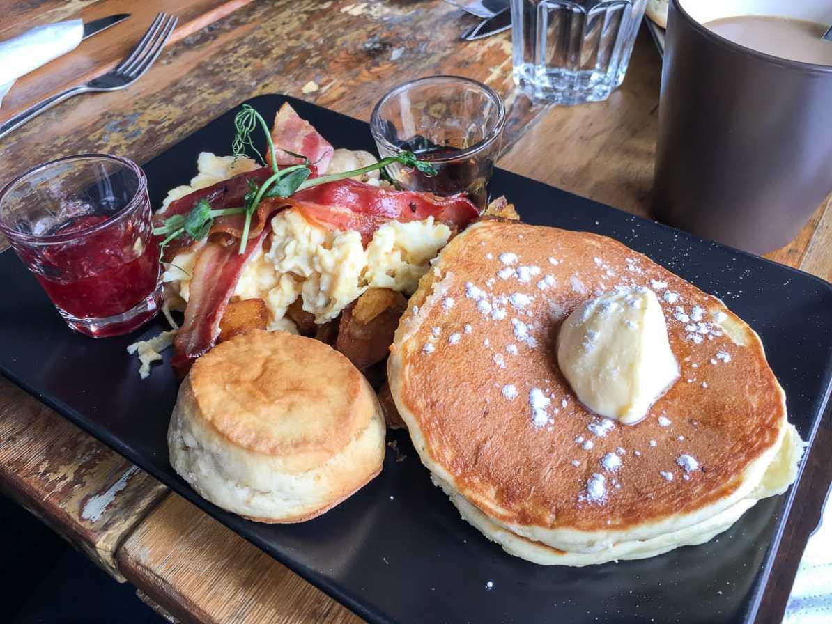 Frühstück im Café Pispala