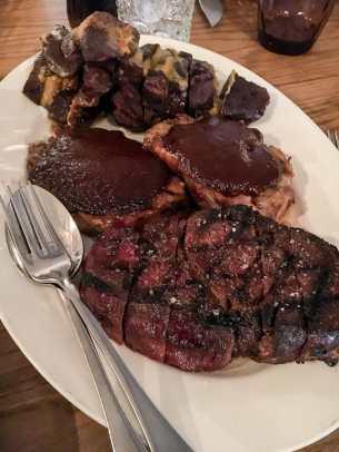 Fleisch in unterschiedlicher Weise
