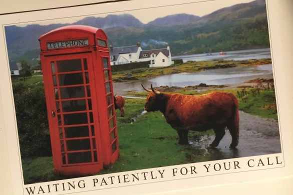 Postcard of the Week: Highlands, Schottland