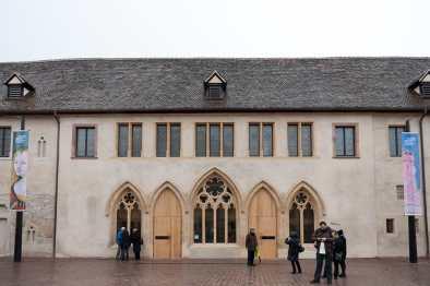 Eingang des Musée Unterlinden
