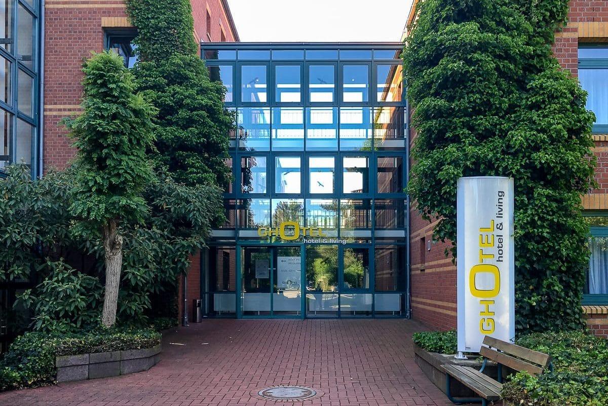 GHotel Hannover - Eingang vom Parkplatz aus