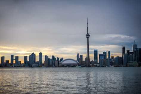Skyline von Toronto - filmreife Kulisse