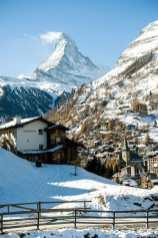Sonne im Mattertal und Matterhorn