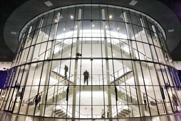Die Rotunde des Musiktheaters im Revier Foto: Pedro Malinowski