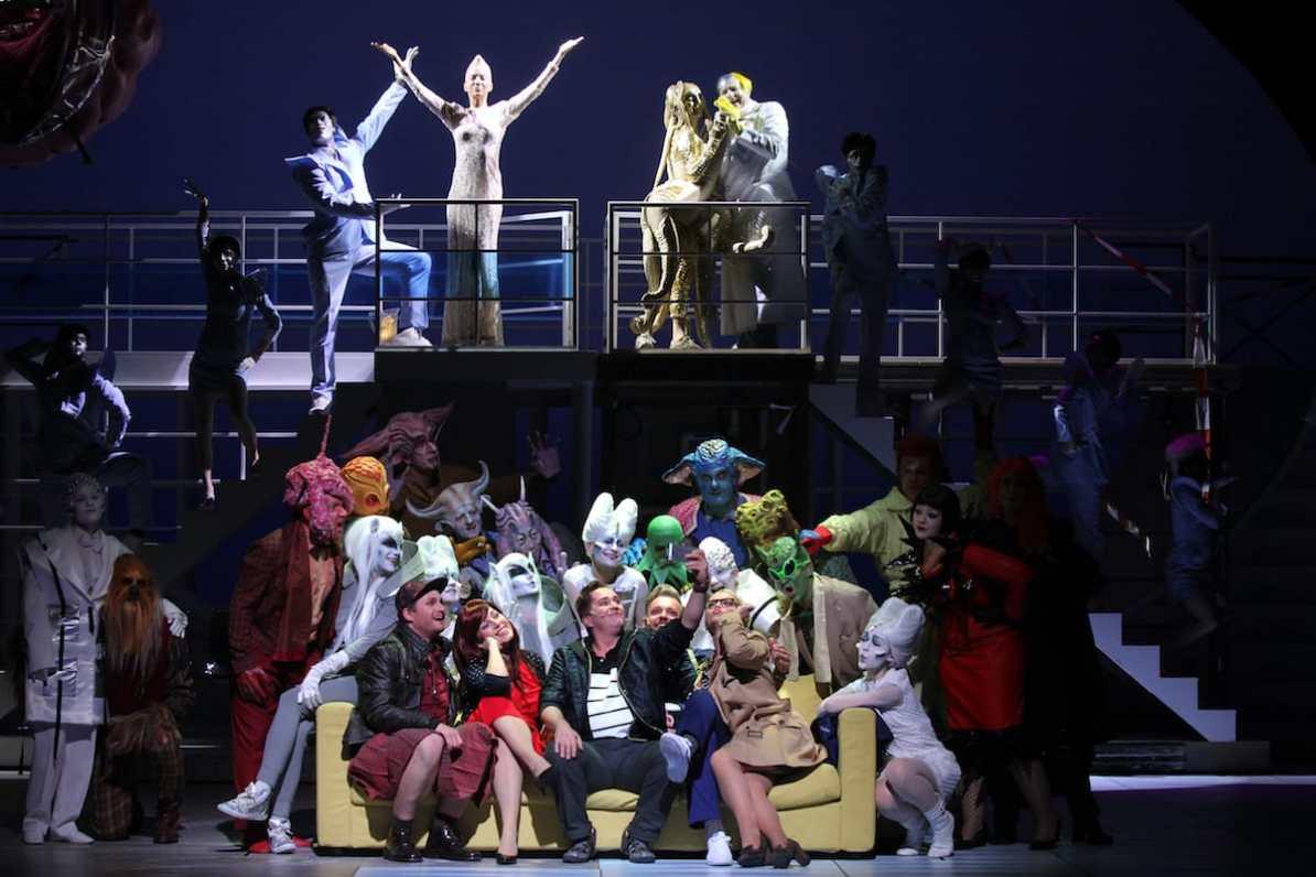 Theater Hagen Ensemble, Chor und Ballett © Klaus Lefebvre