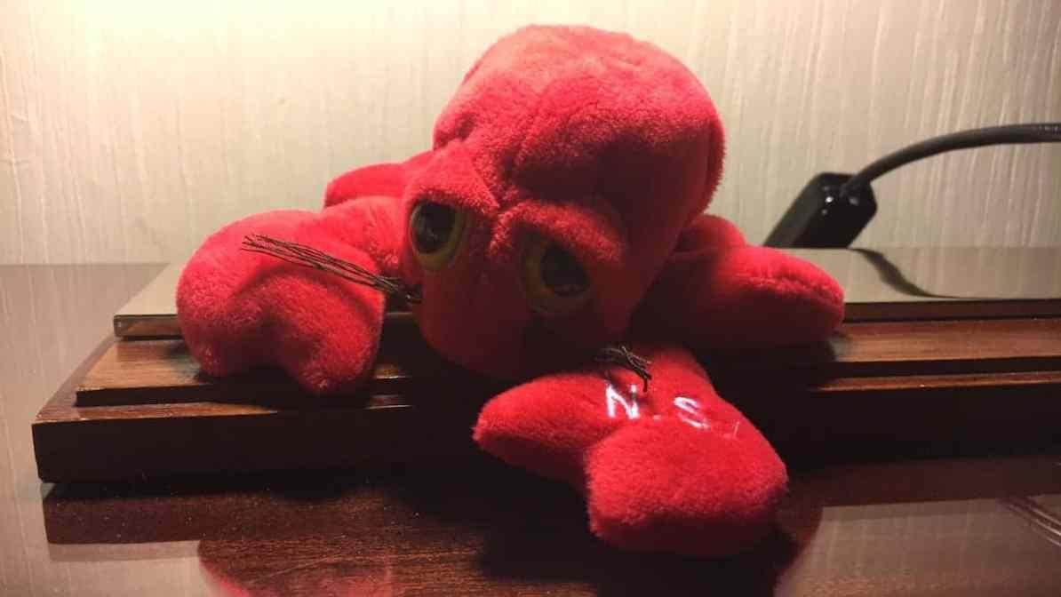 In der Form mag ich Lobster am Liebsten - und so zog Monsieur Lobstér bei uns ein. ;)