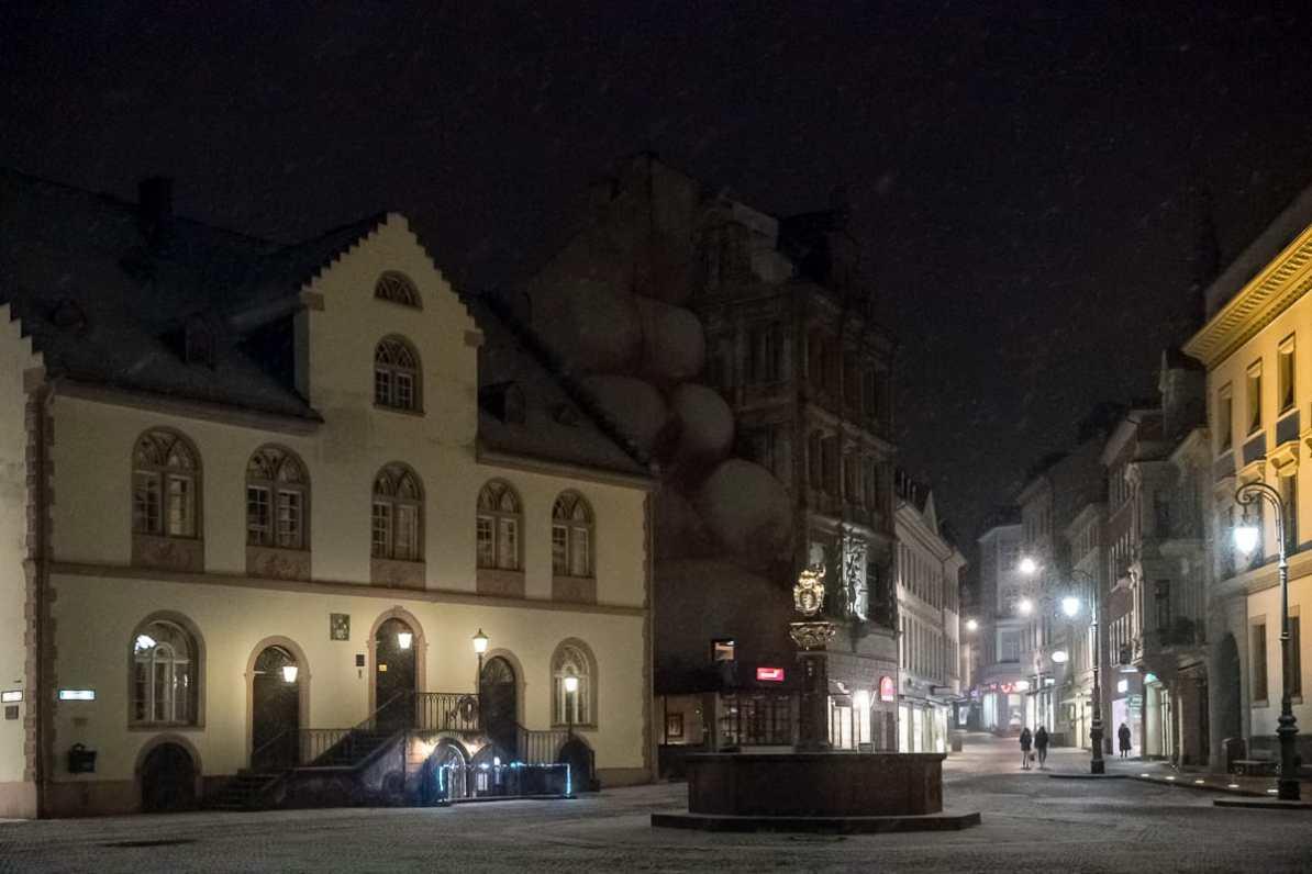 Altes Rathaus mit Marktbrunnen