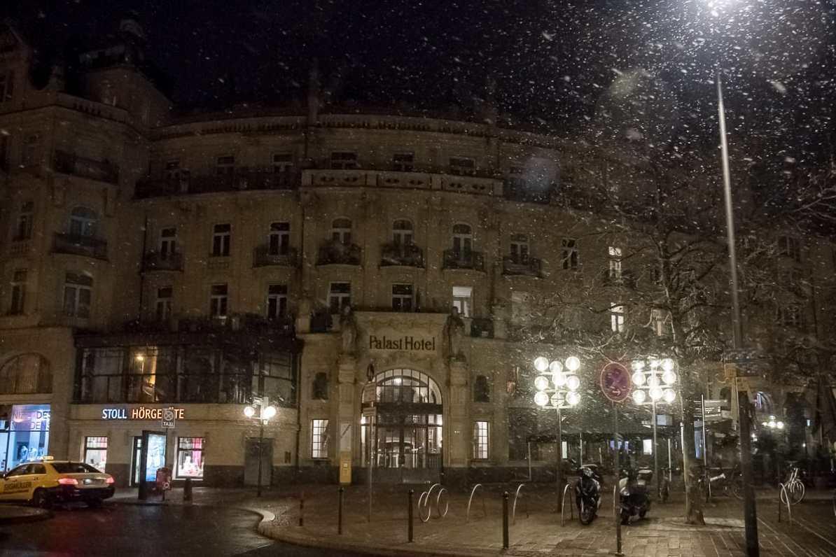 das ehemalige Palast Hotel in Wiesbaden