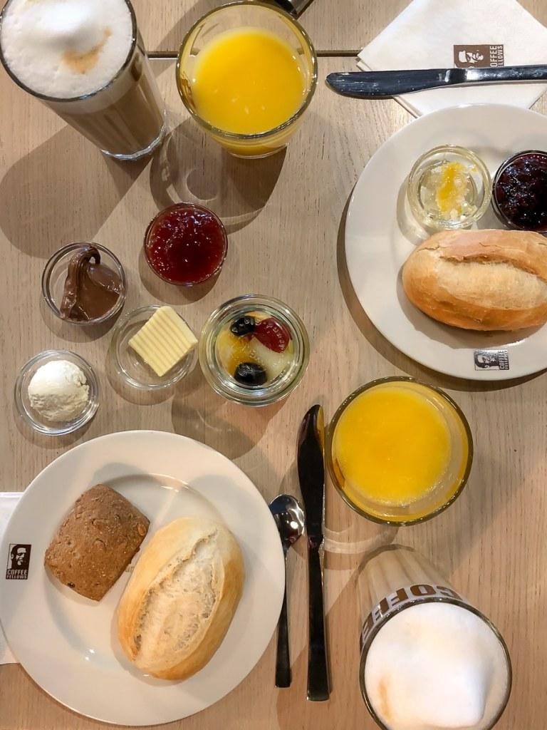 Unser Frühstück zu Ostern