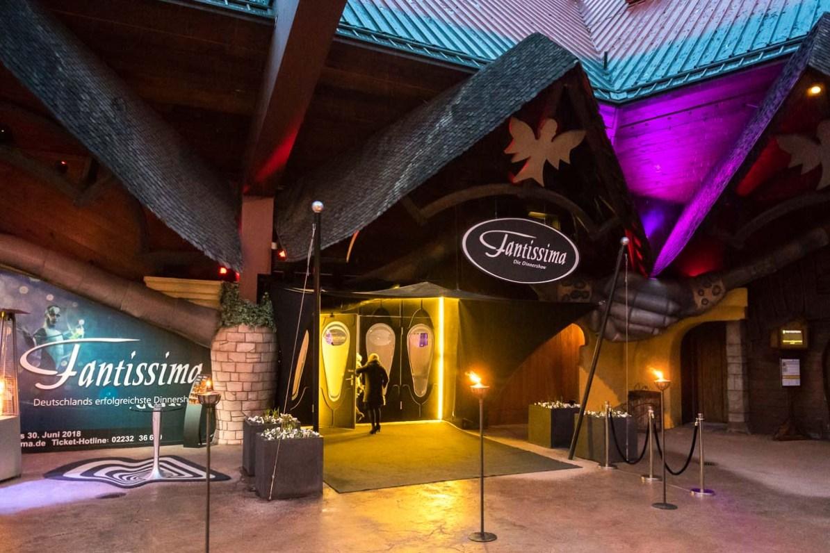 Fantissima-Halle im Phantasialand