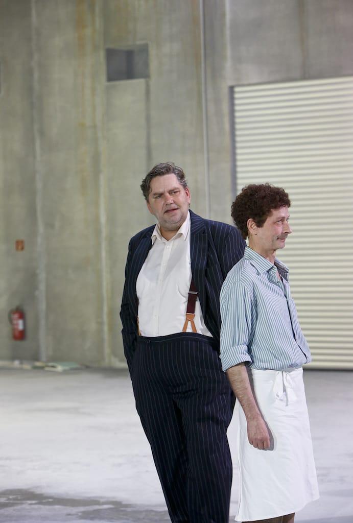 Andreas Beck, Uwe Rohbeck © Birgit Hupfeld