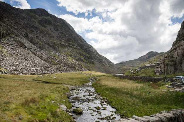auf dem Weg durch Snowdonia