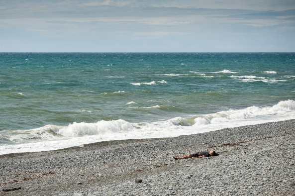 Einfach mal faul am Strand liegen