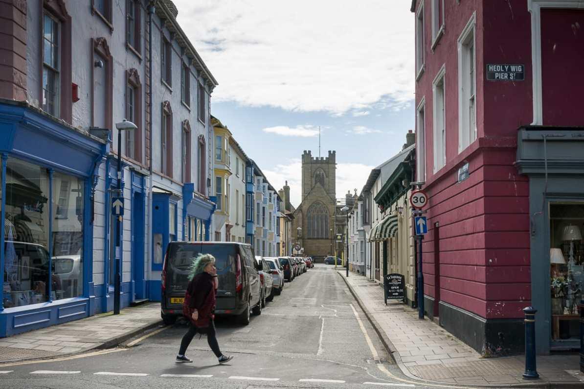 In den kleinen Straßen der Stadt