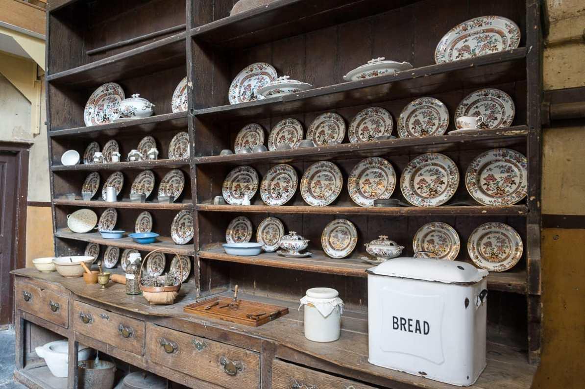 In der alten Küche