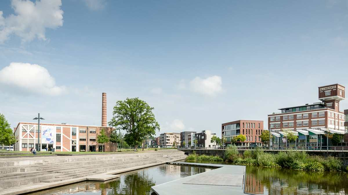 In Roombeek ist die Industrievergangenheit noch gut zu sehen