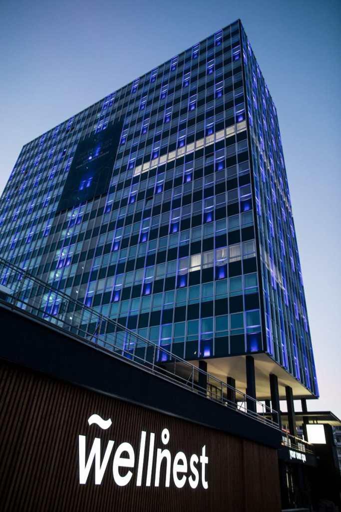 wellnest im City Tower Essen Foto: Julius Gnoth & KNSY Photography