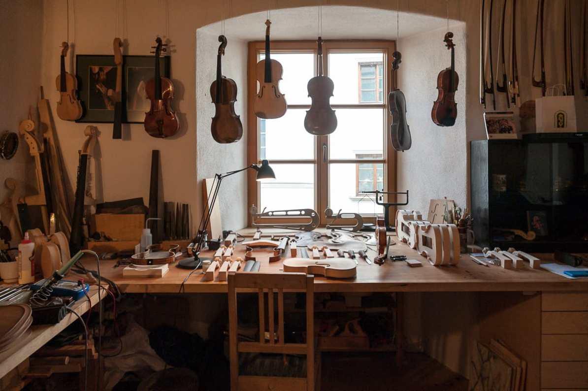Arbeitsplatz von Oliver Radke