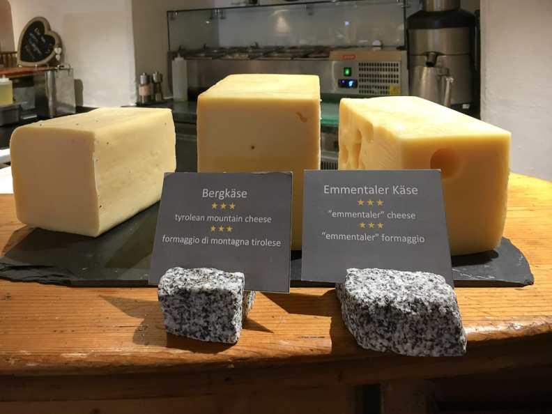 Käse wird hier nicht alle