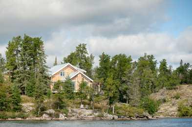 Cabin am High Lake, Manitoba