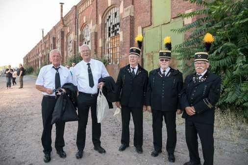 Mitglieder des Bergmannchors